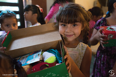 Operation Christmas Child sends packages of love, hope worldwide