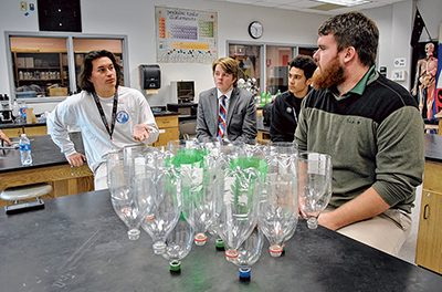 Bluffton students fight water quality issues with science