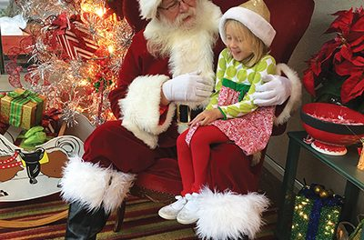 Santa switches gears, asks for help for Bluffton boy