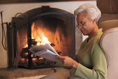 Home is where the hearth is; keep it safe this winter