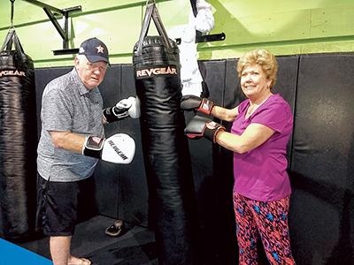 'No contact' boxing emerges as treatment for Parkinson's