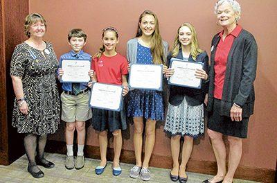 DAR selects essay winners