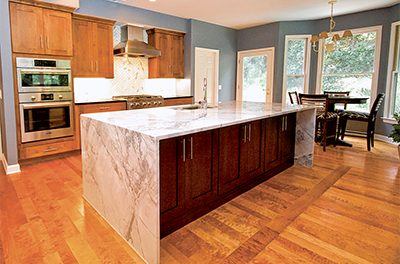 Consider warm colors, natural materials to update kitchen