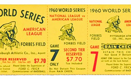 Vintage sports collectibles are hot commodity