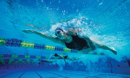 The meaning of 'freestyle' in competitive swimming