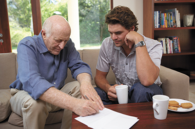 Sharing later life plans can help seniors live well to the end