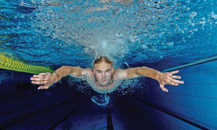 Don't be intimidated by the relaxing Butterfly stroke