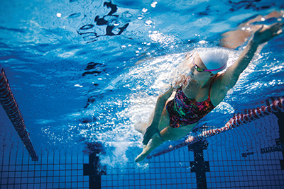 Sidestroke easy, relaxing once you get used to it