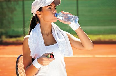 Hydrate to stay cool and healthy in summer heat
