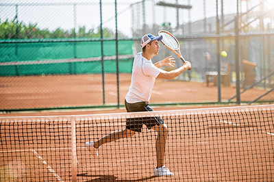 All tennis strokes are only as strong as the weakest link