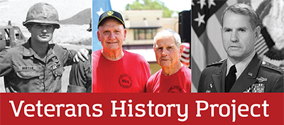 Veterans invited to tell their stories