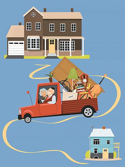 Honey, I shrank the house! Downsizing as a trend