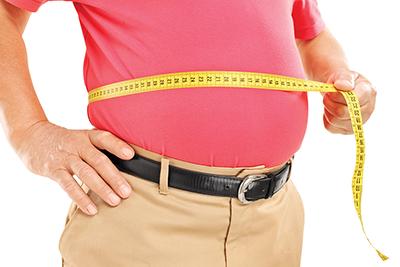Belly fat poses major  health risk for men