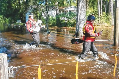 Bluffton firefighters give gift of service during Florence