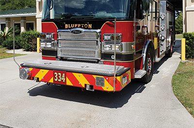 Bluffton firefighters seek international status