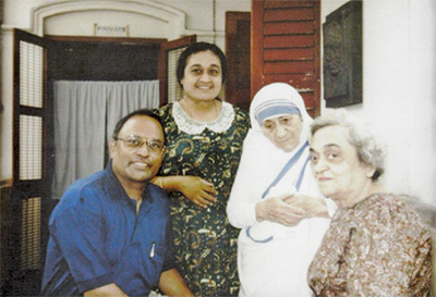 Priest influenced to ministry by his sitter, Mother Teresa