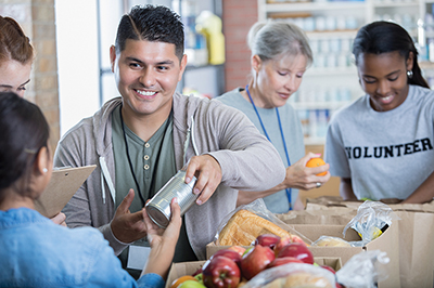 Giving is better than receiving, and better for our health