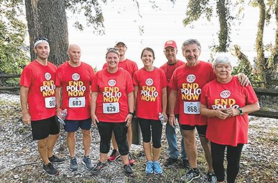 Bluffton Rotary Club joins fight to help eradicate polio