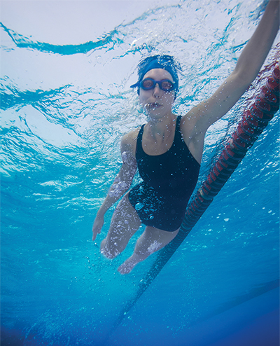 Most frequent tip to help swimmers improve