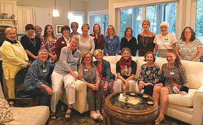 Locals form state chapter of national women's art association