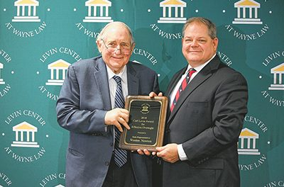 Bluffton resident, representative receives inaugural award