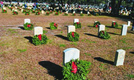 Motorcycles, Pepsi trucks and wreaths to honor deceased veterans
