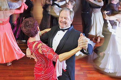 Why are so many older adults ballroom dancing?