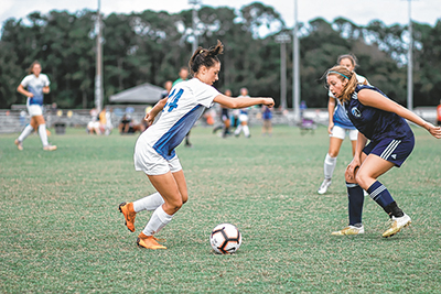 Outstanding Bluffton soccer player named to national team