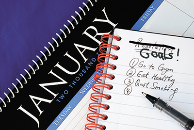 Forget the New Year's  resolution; set a goal instead