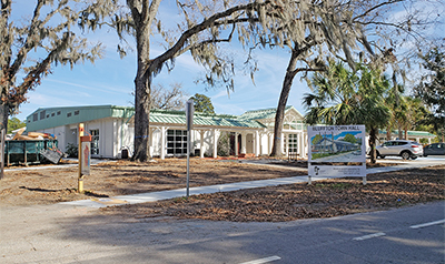 Renovation of Bluffton Town Hall nearing completion
