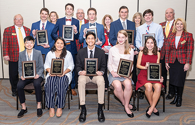 Heritage Scholars named, awarded scholarships at luncheon