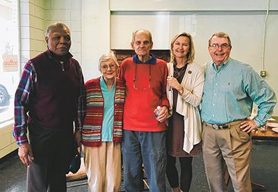 Friends, neighbors gather at impromptu Stock Farm farewell