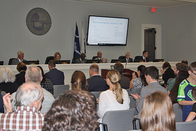 Town Council's new chambers named to honor McCracken