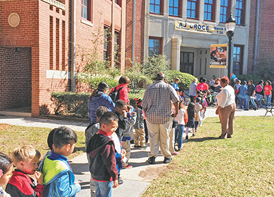 Children, parents invited to  national reading event at USCB