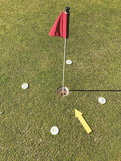 How you see on the greens as important as what you see