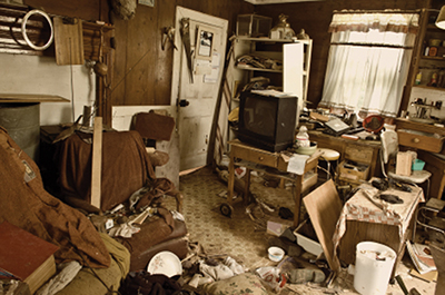 Hoarding increases potential for health, fire issues