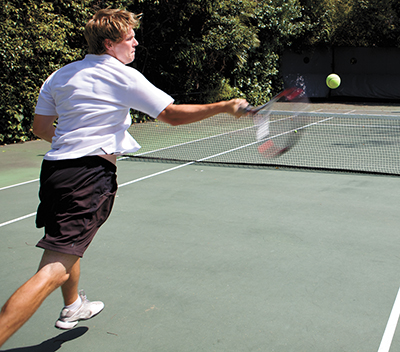Patience is a virtue, especially when added to tennis game