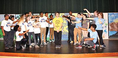Beaufort High teacher, drama students earn national honors