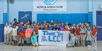 Lowcountry Community Church donates $10,000 to the Boys & Girls Club of Bluffton
