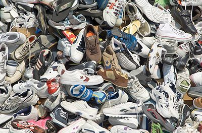 Shoe drive to aid micro-businesses in poor countries