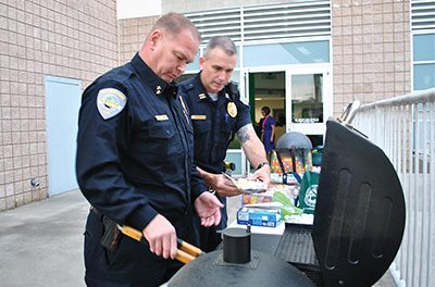 Cooking cops are cultivating a community conversation
