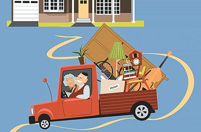 Tips for taking the 'down' side out of downsizing