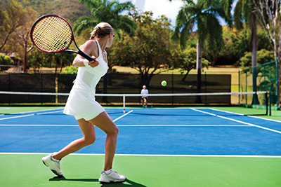 Try 'short court' tennis to improve your full court game