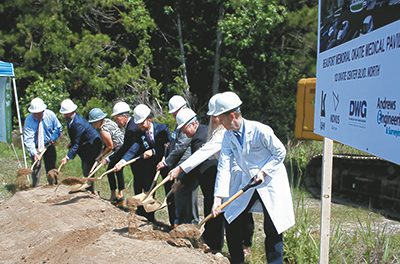 Beaufort Memorial breaks ground on new medical office building