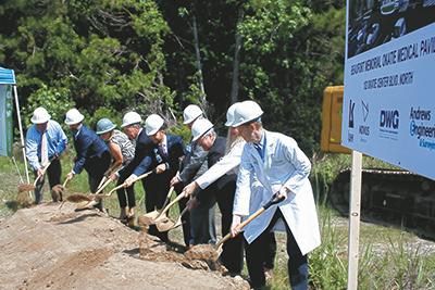 Beaufort Memorial breaks ground on new medical office building