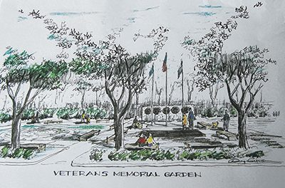 Memorial will provide ceremonial destination for veterans