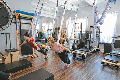 Lifelong fitness passion leads Burns to new Bluffton studio