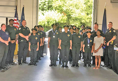 Club members graduate from Bluffton Explorers life program