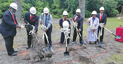 Historic Bluffton church breaks ground for new life center
