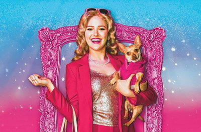 Formerly stray dog lands supporting role in musical